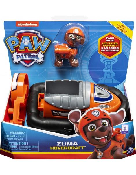 Paw Patrol - Zuma Hovercraft  compreso di personaggio di Spin Master 6061803