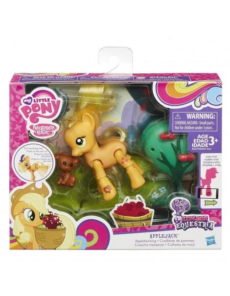 My Little Pony - Articolati con Accessorio, Apple Jack