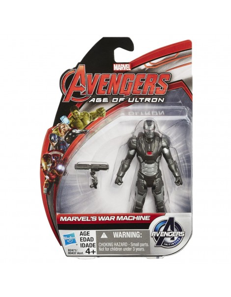 Avengers action collezzione figure Marvel's War Machine 10cm B0437-B2471 di Hasbro