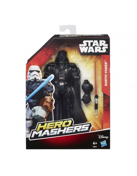 Hasbro B3657 - Hero Mashers - Star Wars - Darth Vader - Soggetto Personalizzabile 15 cm