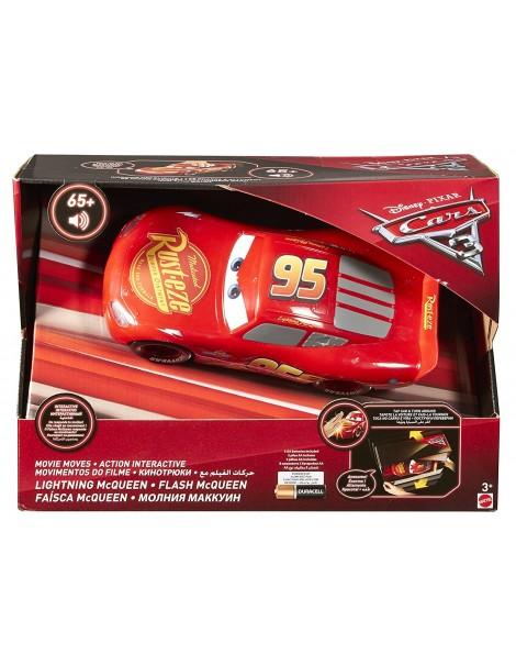 Cars 3 - Saetta McQueen Interattivo, risponde al movimento di Mattel FGN54