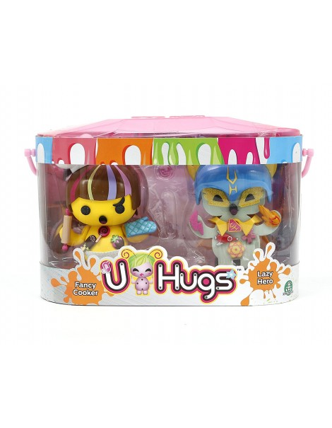 U-Hugs  - Bambola FANCY COOKER e LAZY HERO di Giochi Preziosi UHU16000
