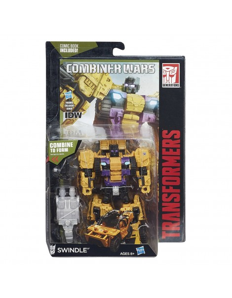Transformers Generations Combiner Wars Deluxe Class Swindlel B4661