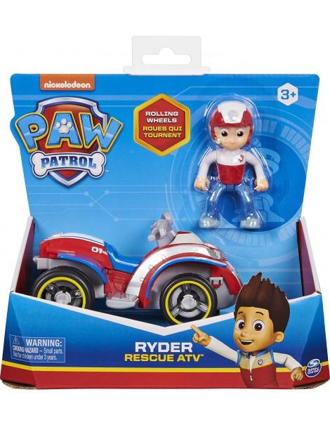Paw Patrol - veicolo quad di salvataggio di Ryder, Spin Master 6061907