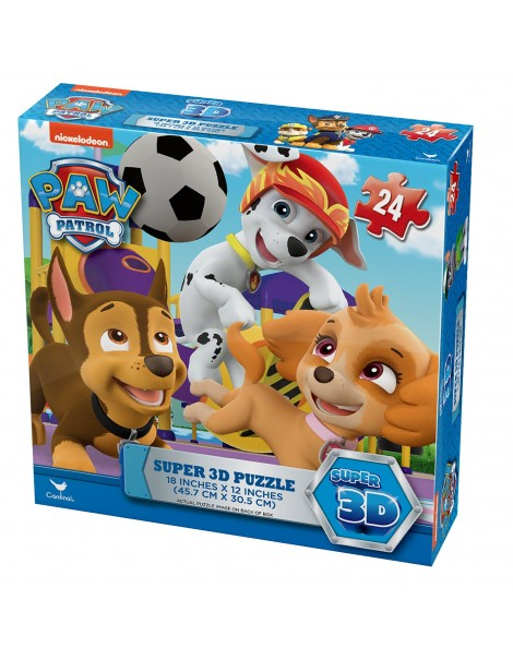 Paw Patrol  Super Puzzle 3D - 6028786 di Spin Master