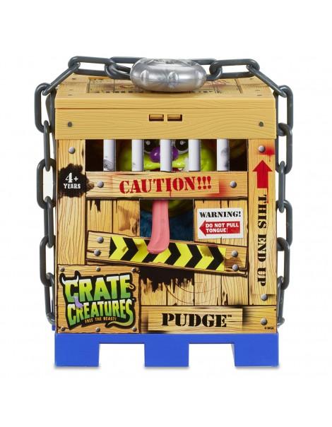 Crate Creatures - Pudge mostro interattivo, giocattolo di Giochi Preziosi
