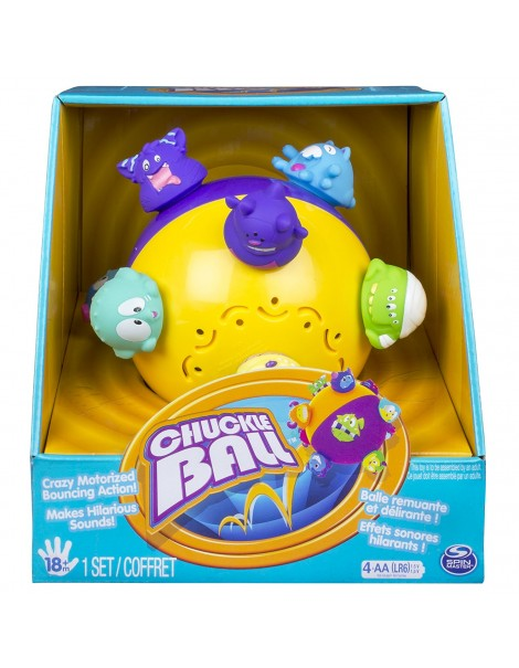 Chuckle Ball Crazy Motorized Bouncing Action Ball by Chuckle Ball