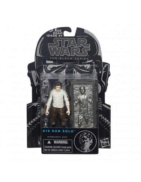 Star Wars The Black Series Han Solo (Carbonite) 3 3/4-Inch Action Figure