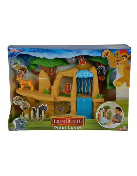 The Lion Guard Pride Land Playset di Simba 109318728