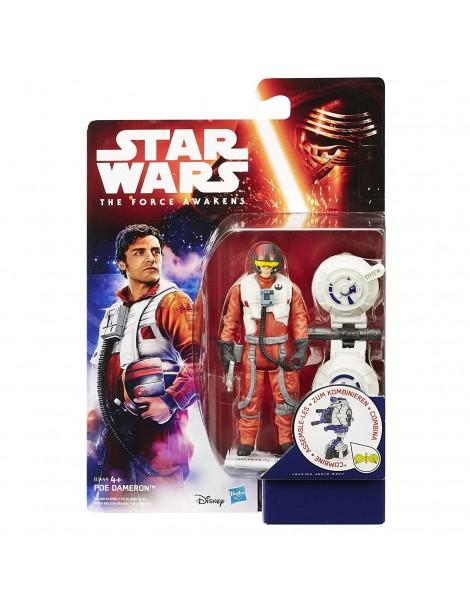 Star Wars- personaggio Poe Dameron 9,5 cm di Hasbro B3449-B3445