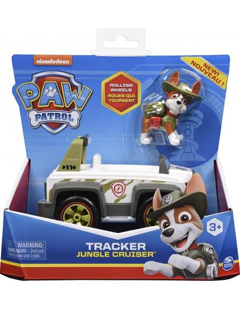 Paw Patrol - veicolo Jungle Cruiser di Tracker, Spin Master 6061801