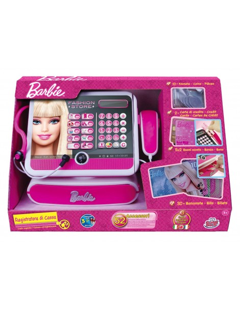 Registratore Cassa Barbie di Grandi Giochi GG00404