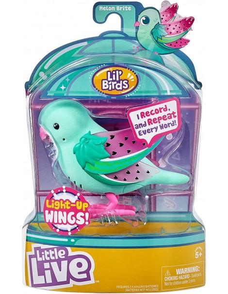 Little Live Pets cocoritos L'Originale Personaggio - Melon Brite - con Effetto luci e Suoni  giochi preziosi