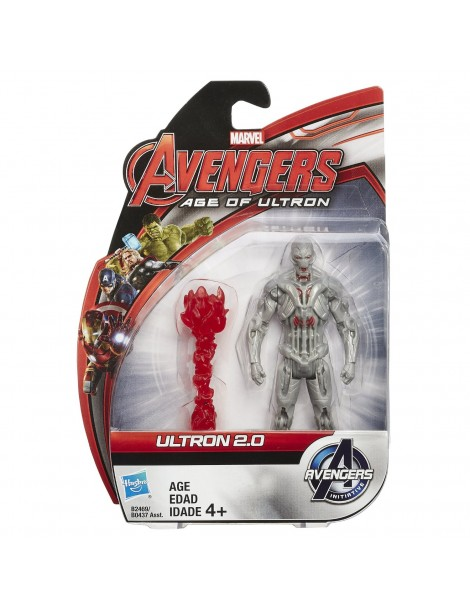 Marvel-Avengers Action Figures Ultron 2.0 10cm. B0437-B2469 di Hasbro