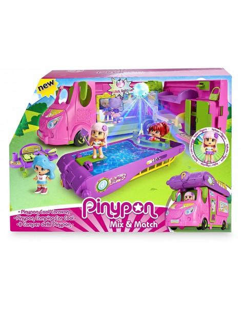 Pinypon Cool Caravan, Playset di Famosa 700015070