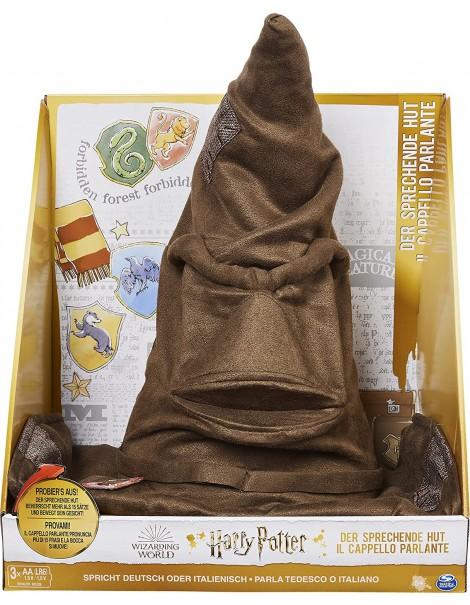 Harry Potter Cappello Parlante, 15 frasi italiano, la bocca si muove,  Spin Master