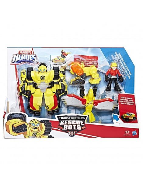 Transformers Playskool Heroes Bumblebee Rock Rescue Team di Hasbro C0296