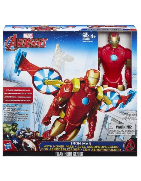 HASBRO Marvel Avengers Personaggi 30cm. c/Veicolo Iron Man B5776 B6156