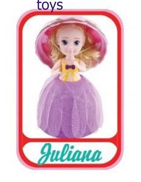 Grandi Giochi Gelato Surprise Bambola profumata Cupcake, Guliana - JULIANA