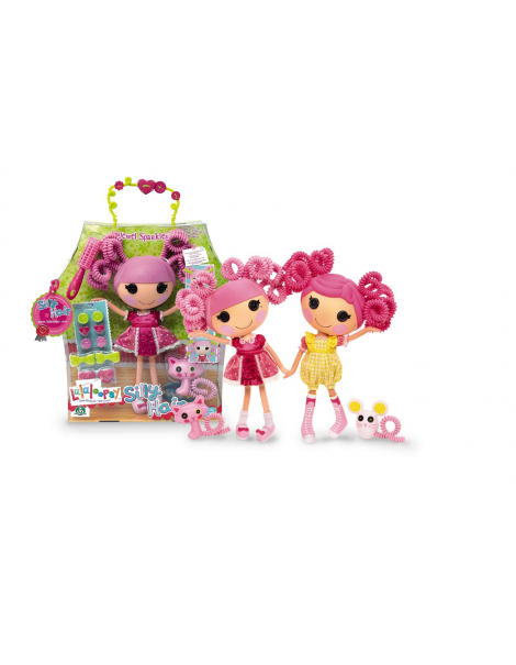Lalaloopsy - Bambola 33 cm Silly Hair - Jewel Sparkers