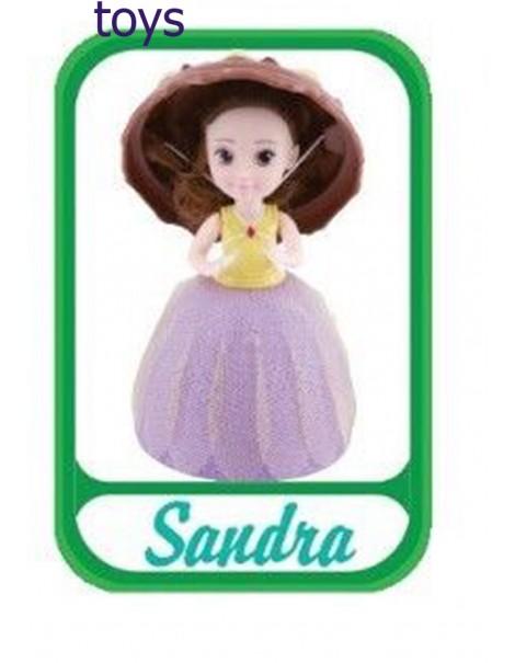 Grandi Giochi Gelato Surprise Bambola profumata Cupcake, Sandra