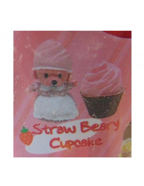 New CUPCAKE BEARS SURPRISE ORSETTO STRAW BEARY CUPCAKE