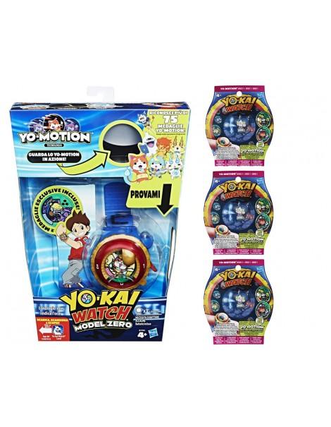Yo-Kai - Gioco Watch Orologio Zero + 6 medaglie yo kai