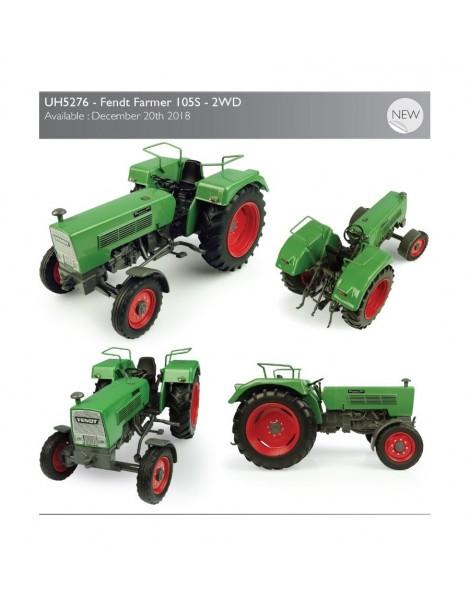 Universal Hobbies Fendt Farmer 105S – 2WD UH 5276 scala1/32