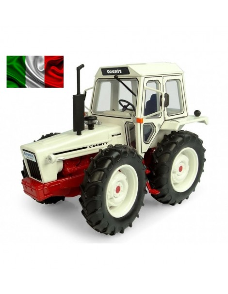 UH 6214 FORD County 1174 BIANCO - ROSSO SCALA 1/32 UH 6214