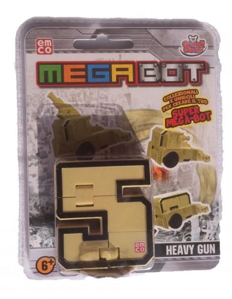 MEGA BOT - MEGABOT GRANDI GIOCHI - CREA IL TUO ROBOT MODELLO NUMERO 5 HEAVY GUN