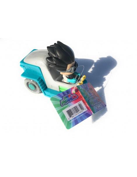 PJ Masks Pigiamini  PJ MASK ROMEO LAB RACERS  Giochi Preziosi 10 cm
