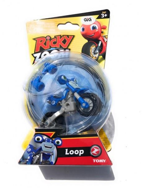 Nuovo Ricky Zoom - Loop personaggio giocattolo circa 9 cm cod rcy 00000