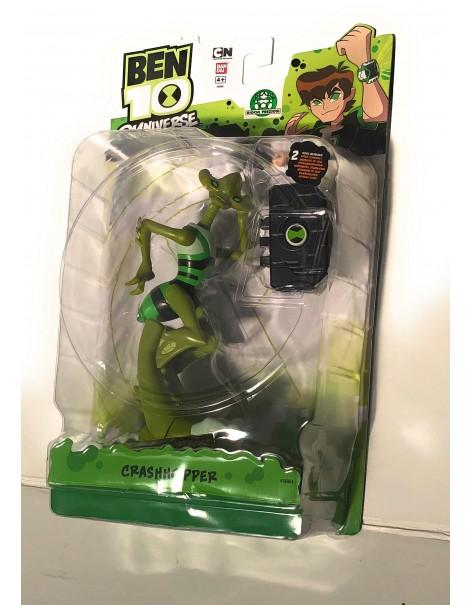 Ben 10 Omniverse personaggio collezzione Crashhopper 15 cm  con accessorio per messaggi alieni