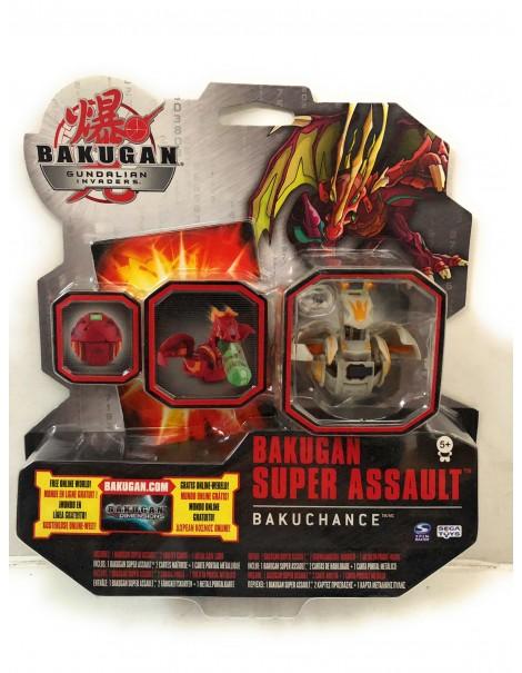 Bakugan Collection SUPER ASSALT BAKUCHANCE marrone