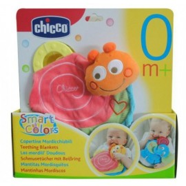 CHICCO Copertina mordicchiabile chiocciola - Chicco Snail Teething Blanket
