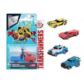 Transformers - Veicolo Die Cast 1:64 offerta 5 pezzi - Strongarm - Optimus Prime - Steeljaw - Sideswipe - Bumblebee -