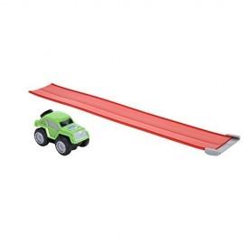 Max Tow Truck  Mini Haulers veiscolo verde  trascina fino 25 volte il suo peso include la pista