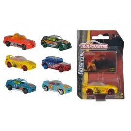 Majorette - Stunt Heroes - Crash Car 1:64 assortimento completo 6 pezzi