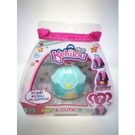 Kekilou Surprise -Mini Borsetta che diventa la bambola Tess e contiene un lip gloss - K-Cutie - Giochi Preziosi