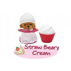 New CUPCAKE BEARS SURPRISE ORSETTO STRAW BEARY CREAM