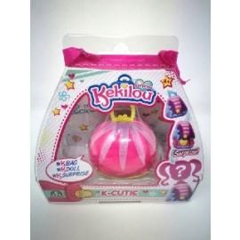 Kekilou Surprise- Mini borsetta che diventa la bambola Jewel con Body Glitter - K-Cutie - Giochi Preziosi