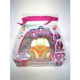 Kekilou Surprise -Mini Borsetta che diventa la bambola Kelly e contiene un lip gloss - K-Cutie - Giochi Preziosi