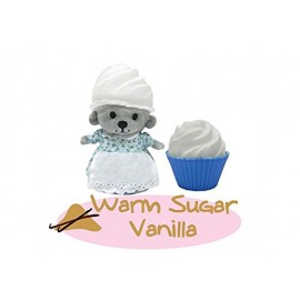 New CUPCAKE BEARS ORSETTO WARM SUGAR VANILLA