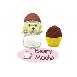 New CUPCAKE BEARS ORSETTO BEARY MOCHA