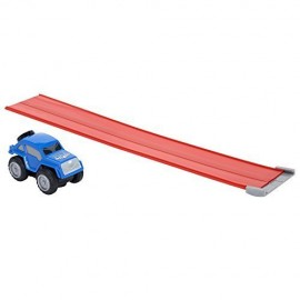 Max Tow Truck  Mini Haulers veiscolo macchina blu   trascina fino 25 volte il suo peso include la pista