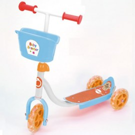 Bontempi Bontoy Baby Monopattino 3ruote regolabile in altezza , Portata massima 20 kg SKB3231