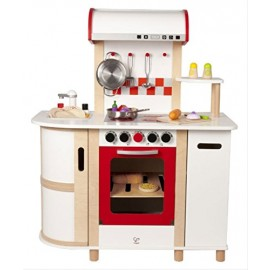 Hape novità dell'anno E8018 - Cucina Deluxe con Carrello, Multicolore - Hape la migliore !!!!!