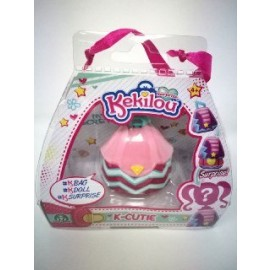 Kekilou Surprise -Mini Borsetta che diventa la bambola Chloe e contiene un lip gloss - K-Cutie - Giochi Preziosi