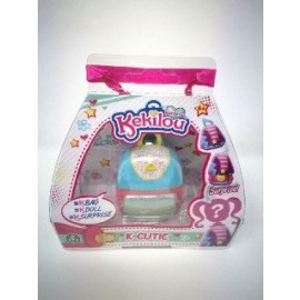 Kekilou Surprise -Mini Borsetta che diventa la bambola Nicole e contiene un' ombretto - K-Cutie - Giochi Preziosi