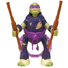 TURTLES THRO N BATTLE - TARTARUGA NINJA DONATELLO 15 CM ( CON MOVIMENTO CAPRIOLA ) GPZ91620